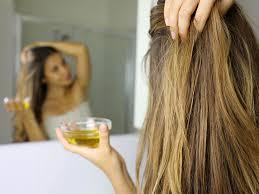 huile chaude cheveux