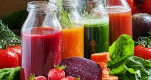 jus de fruits nettoyants