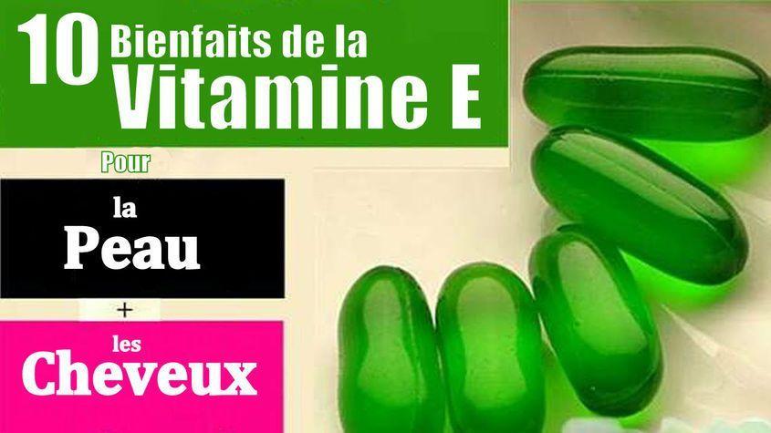 avanatges vitamine e