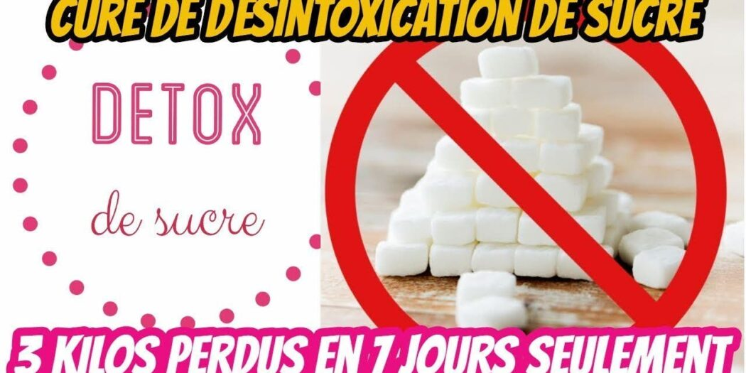 étapes detoxification sucre